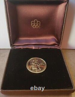 1976 $100 Pièce D'or Olympique 14kt 1/4 Oz D'or