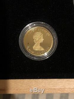 1979-1989 Canada Commémorative Ensemble Feuille D'érable Coins Or Argent Platine