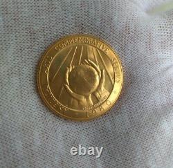 1980 Médaille D'or Américaine (1/2 Oz) Des Arts Commémoratifs Américains Marian Anderson