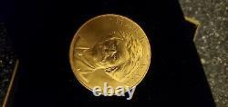 1981 Mark Twain Médaille Commémorative American Arts 1 Oz Pièce D'or