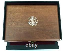 1983-1984 Olympic 6 Coin Set- 2- $10 Pièces D'or 4 Dollars D'argent Preuve - Bu