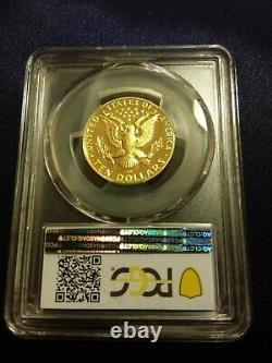 1984 P Jeux Olympiques Américains $10 Gold Coin Pcgs Pr 70 Dcam Faible Pop 46