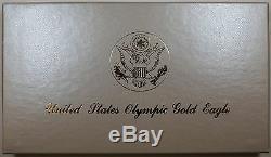 1984-s Olympique 10 $ Proof Commémorative Pièce D'or
