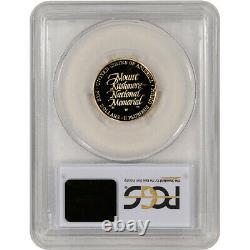 1991-w Or Us $5 Mount Rushmore Preuve Commémorative Pcgs Pr69 Dcam