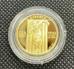 1992 Jeux Olympiques De 6 Pièces - Y Compris 2 5 $ D'or - Wow 99 Cent Début Aucune Réserve
