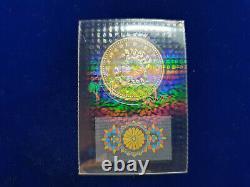 1993 Scellé Bu Japon 50 000 Yens Commémorative 1000 Fine Pièce D'or $1350 Valeur