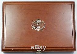 1995 Guerre Civile Battlefield Or Argent Et Clad 6 Coin Proof & Unc Set No Box Extérieur
