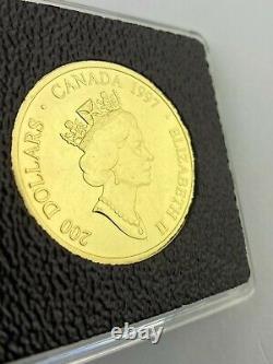 1997 Pièce Canadienne D'or Haïda De 200 $ Mise À Jour Pics