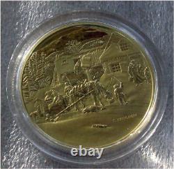 2001 Canada 200 Dollars Pièce D'or C. Krieghoff Preuve