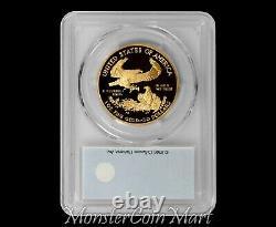 2006-w $ 50 Gold Eagle Pcgs Pr70dcam First Strike Pop 13 Coin! Très Rare