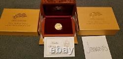 2007 W Martha Washington Premier Conjoint 1/2 Oz Pièce D'or Non Circulée 10 $ X05