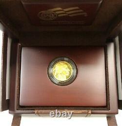 2008 W Gold Buffalo Quarter Ounce Proof Coin W Ogp Et Coa