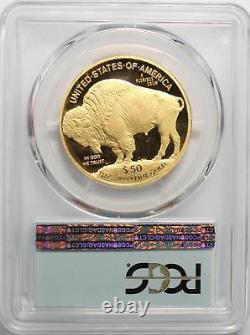 2008-w Proof Buffalo Gold Eagle 4-coin Set Pcgs Pr-70 Dcam, Numéros Consécutifs