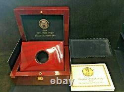 2009 20 $ 1 Oz Gold Ultra High Relief Uhr Ngc Mme-70 Dpl Avec Ogp Et Livre