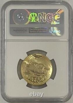 2009 20 $ Ultra High Relief St Gaudens Uhr Gold Double Eagle Ngc Ms70 Pl