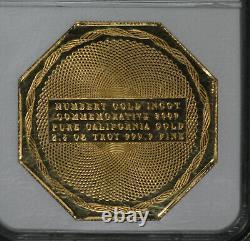 2009 Humbert Commemorative 2.5 Oz Gold Ncg Gem Ultra Cameo