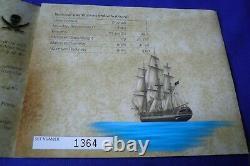2009 The Golden Age Of Piracy 1 Oz. 999 Silver Perth Mint 5 Pièce De Monnaie Set Pirate Ship