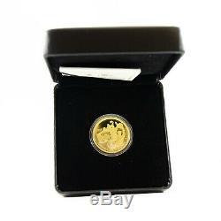 2010 $ Amende De 200 First Gold Olympique Coin Du Canada Médaille D'or Sur Le Sol Accueil Rcm