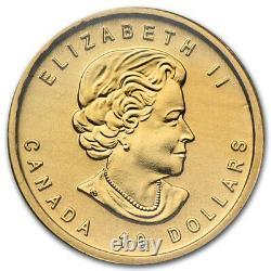 2012 1/4 Oz Pièce D'or Pur La Guerre De 1812