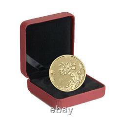 2012 Année Du Dragon 1/10 Ounce Pure Gold Coin