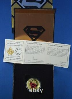 2014 $100 Superman 14kt Gold Coin Monnaie Royale Canadienne