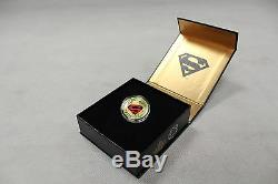 2014 Monnaie Royale Canadienne $ 100 Pièces D'or Pièce De Monnaie Les Aventures De Superman # 596