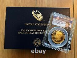 2014-w États-unis John F. Kennedy Demi-dollar Proof Gold Coin Pcgs