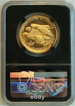 2015 W $ 100 High Relief 1 Oz. 9999 Or Liberté Monnaie Ngc Ms 70 Premiers Communiqués