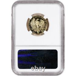 2015-w Us Gold $5 Marshals Service Commemorative Proof Ngc Pf70 First Day Star