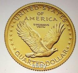 2016 Centennial Gold Coin Standing Liberty Quarter With Ogp Us Mint 16xc
