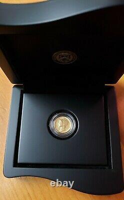 2016 Gold Mercury Dime 16xb 1/10 Oz Ogp Us Mint Centennial Coin Rare