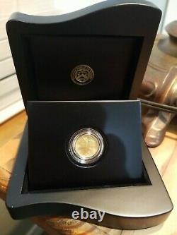 2016 Mercury Dime Centennial Gold Coin En Boîte Avec Coa 99.99% Gold West Point