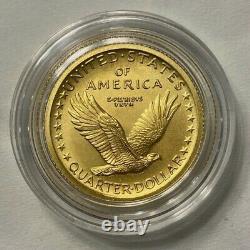 2016 Standing Liberty Quarter Centennial Gold Coin À La Monnaie Américaine