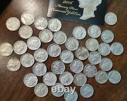 2016 W Mercury Dime 1/10 Oz Centennial Gold Coin Coa & Box