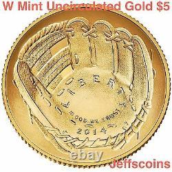 2016 W Mercury Dime Centennial Gold Coin 10¢ Non Circulé 16xb. 9999 24k 1916