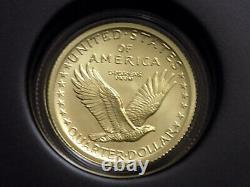 2016 W Standing Liberty 1/4oz Quarter 25c Gold Centennial Commemorative Coin Ogp