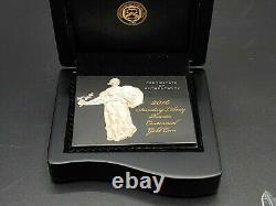 2016 W Standing Liberty Centennial Gold Coin 1/4 Oz. 9999 Quartier Or 16xc