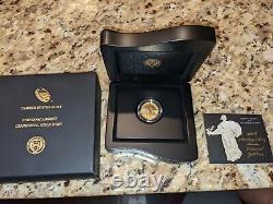 2016 W Standing Liberty Quarter Centennial Gold Coin. 9999 Amende 1/4 Troy Oz