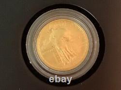 2016 W Standing Liberty Quarter Centennial Gold Coin. 9999 Amende 1/4 Troy Oz B41