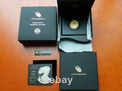 2016 W W Walking Liberty Half Oz Gold Centennial Communemorative Coin Avec Ogp 16xa