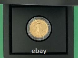 2016 Walking Liberty Demi-dollar 1/2 Oz Gold. 9999 Pièce Fin Centenaire B42