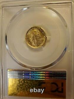 2016-w Centenaire Us 1/10e Oz. 9999 Gold Mercury Dime Pcgs Sp70 Fs Or Étiquette