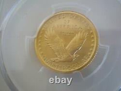 2016-w Standing Liberty Gold Coin Pcgs Sp70 Première Étiquette De Drapeau De Grève