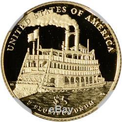 2016-w Us Gold $ 5 Mark Twain Preuve Commémorative Ngc Pf70 Communiqués Tôt