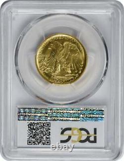2016-w Walking Liberty Demi Dollar Centennial Gold Coin Sp70 Pcgs