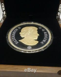 2017 Tribut First Canadian Gold Coin $ 250 Kilogramme Preuve En Argent Pur Coin Canada