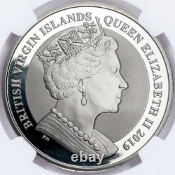 2019 Angleterre Una Et Lion Pf69 Ngc Silver Coin Queen Victoria 1 Oz Pièces D'or
