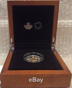 2019 Or Feuille D'érable 3-d Exclusif Club Des Maîtres 15 $ Proof Silver Coin Du Canada