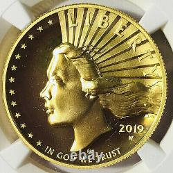 2019 W American Liberty 100 $ Hr Gold 2021 West Point Hoard Ngc Sp70 Ef Ucam