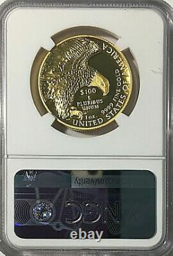 2019 W American Liberty 100 $ Hr Gold 2021 West Point Hoard Ngc Sp70 Ucam